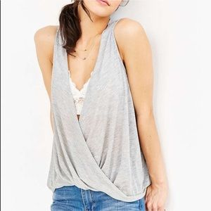 Urban Outfitters Silence Noise Surplice Tank Top